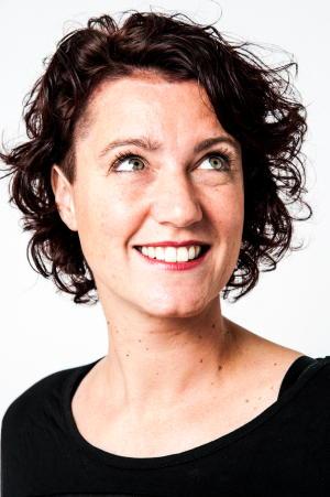 Portretfoto Martine Winkel, door Fotostudio Marjolein Remme